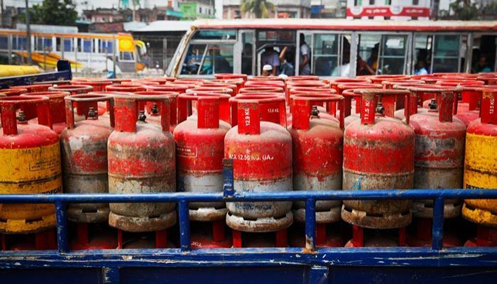 12kg LPG Cylinder Price Re-Fixed at Tk 891