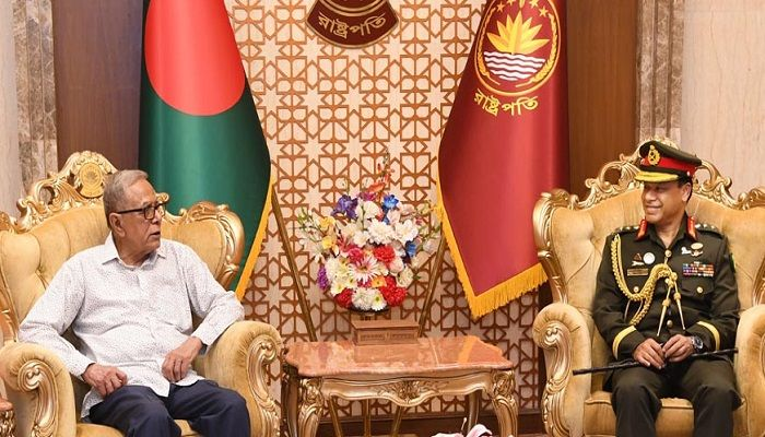 President Asks Armed Forces to Work for Tackling Coronavirus Situation
