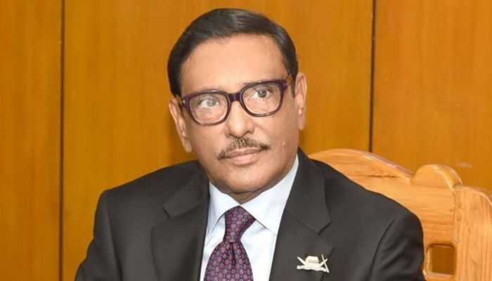 Road Transport and Bridges Minister Obaidul Quader (Photo: Collected)