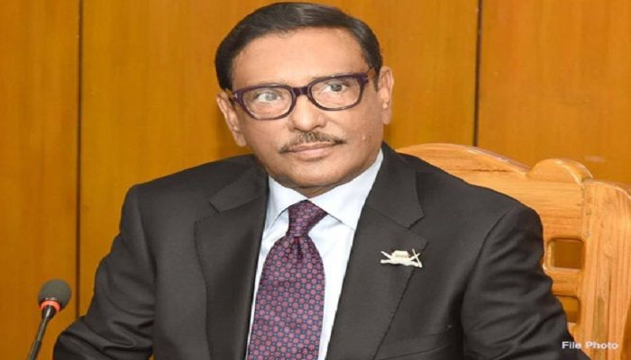 Govt Gives Top Priority to Protection of People's Lives: Quader