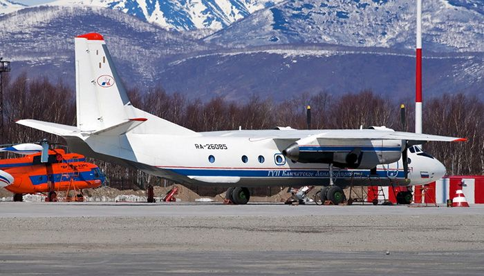 No Survivors in Russian An-26 Plane Crash: Reports