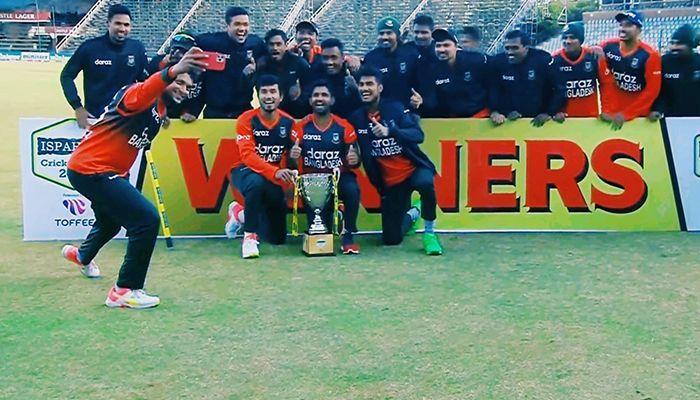 Bangladesh Beat Zimbabwe to Clinch T20I Series
