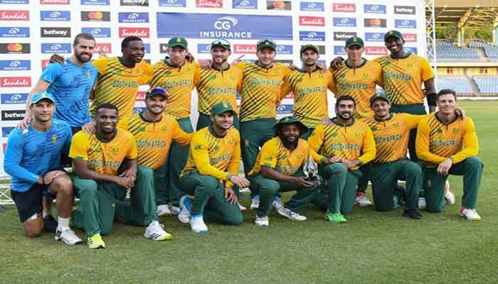 South Africa Take T20 Series As Windies Skipper Blasts Team 'Insanity'