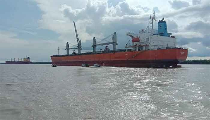 Mongla Port has made a new record of earning revenue Tk 340 crore || Photo: Collected