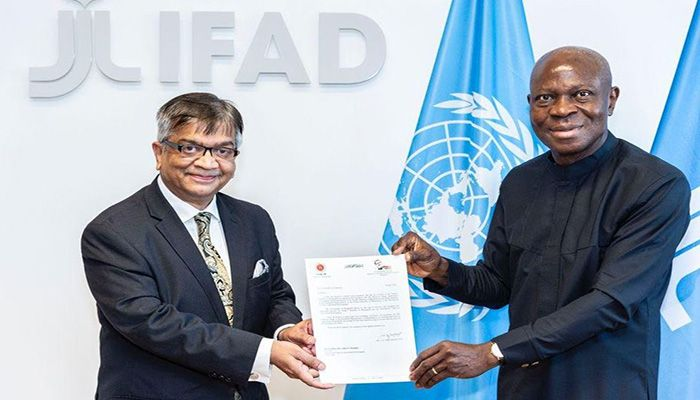 IFAD President Praises Agriculture-Based Performance of Bangladesh