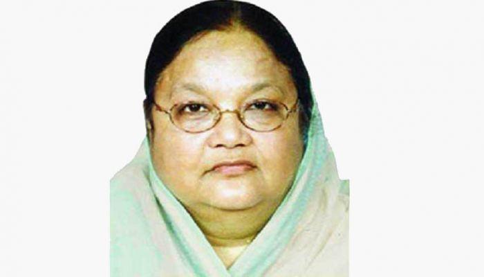 Former State Minister Prof Jahanara Begum Passes Away