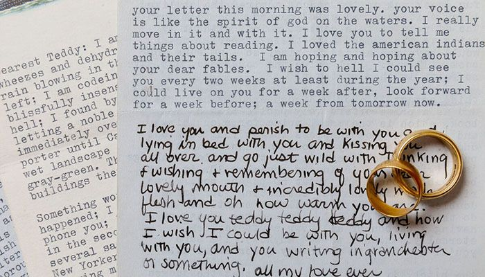 Passionate Plath Love Letters to Hughes up For Sale
