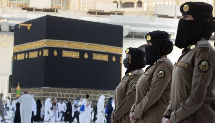 Saudi Women Guards in Mecca (Photo: Collected)