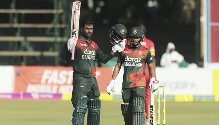 Captain Tamim Iqbal led from the front with a scintillating century as Bangladesh completed a clean sweep of Zimbabwe. Photo: Collected)