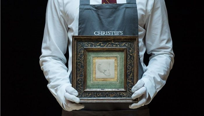 Da Vinci Bear Drawing Expected to Fetch up to £12m at Auction