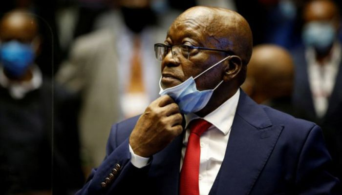 S Africa's Ex-President Jacob Zuma Hands Himself Over to Police