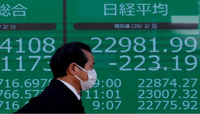 Tokyo Stocks Close Lower with Eyes on Virus Cases