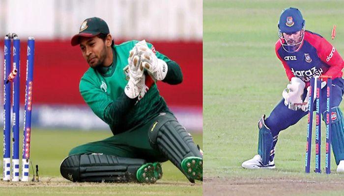 Mushfiqur Rahim and Nurul Hasan Sohan || Photo: Collected