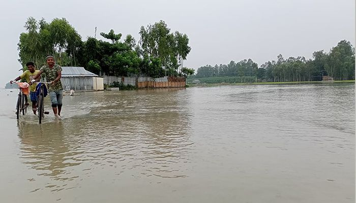 Lower Areas of 12 Districts Flooded, 1 Lakh People Waterlogged