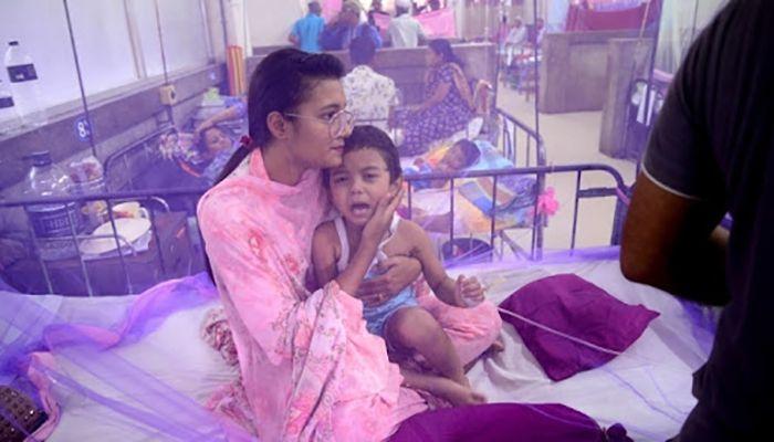 321 Dengue Patients Hospitalized in 24 Hours: DGHS