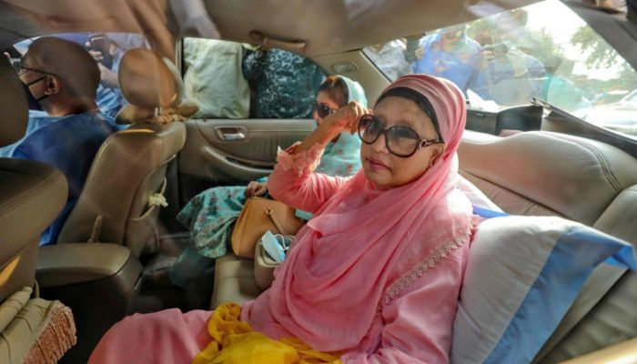 'Process of Extending Khaleda Zia's Stay Out of Jail Is Ongoing'
