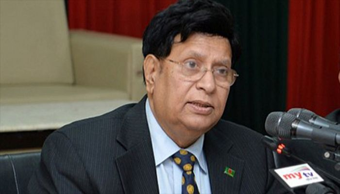 Foreign Minister AK Abdul Momen    Photo: Collected
