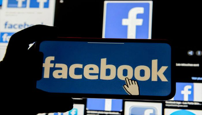 The Facebook logo is displayed on a mobile phone in this picture illustration taken December 2, 2019. || Reuters Photo: Collected