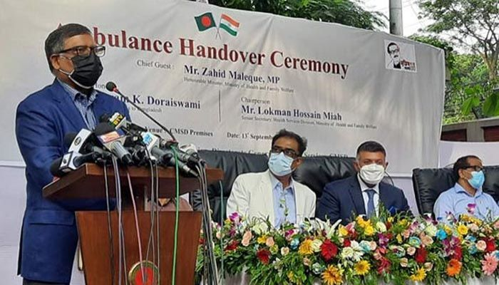 Health Minister Zahid Maleque || Photo: Collected
