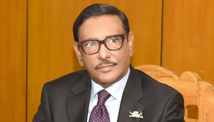 Awami League General Secretary and Road Transport and Bridges Minister Obaidul Quader || Photo: Collected