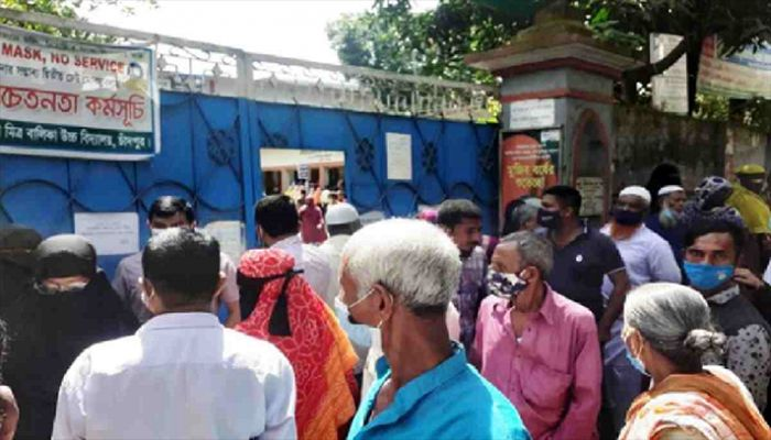 Vaccination Halted in Chandpur over Jab Crisis