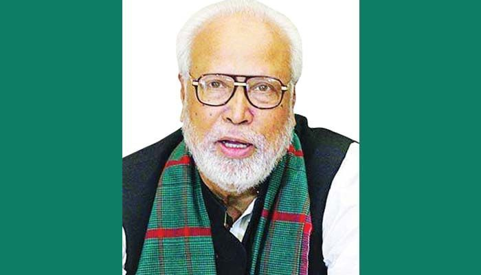 Krishak Sramik Janata League President Banga Bir Kader Siddiqui    Photo: Collected