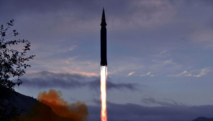 North Korea Says It Tested Hypersonic Missile