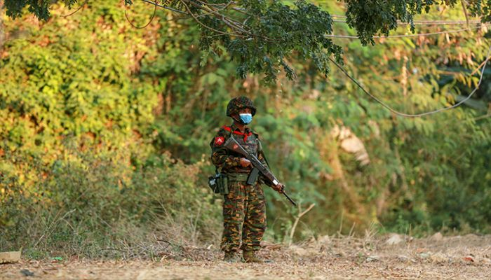 20 Killed As Myanmar Ruling Military Clashes with Militias