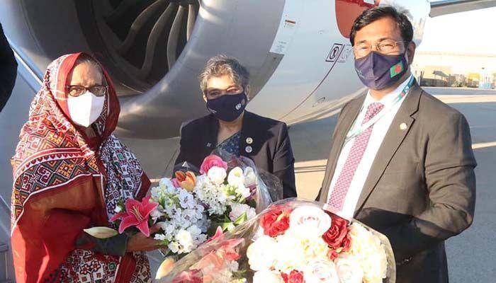 PM Sheikh Hasina Arrives in New York