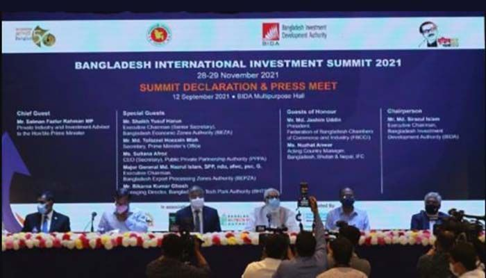 Pre-preparation ceremony of 'Bangladesh International Investment Summit 2021' || Photo: Collected