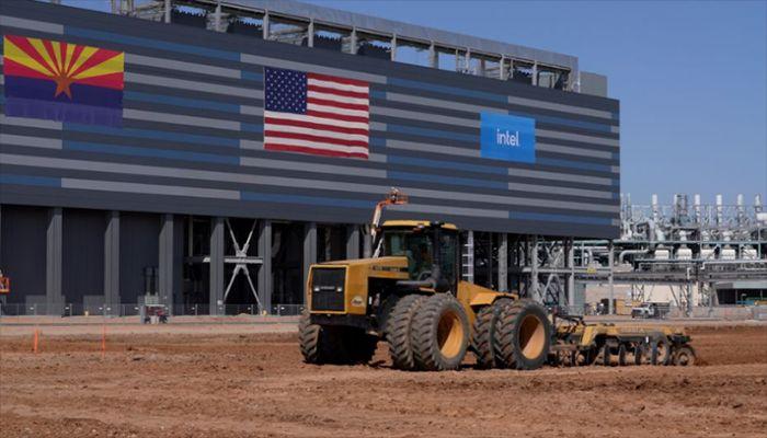 Intel Breaks Ground on $20b Arizona Plants
