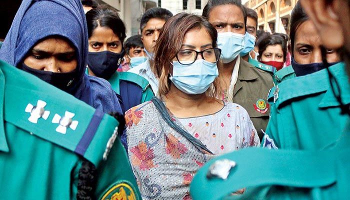 Munia's Death: Model Piasha Sent to Jail after Remand