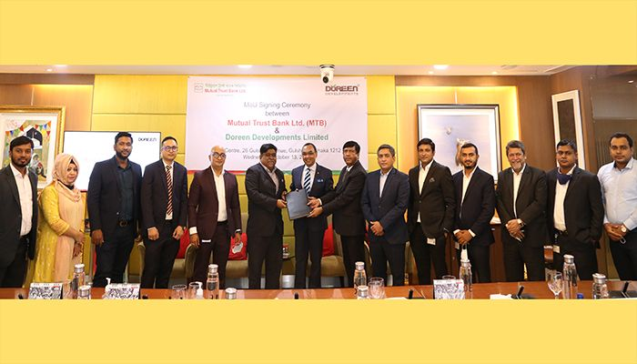 MTB Signs MoU with Doreen Developments Limited