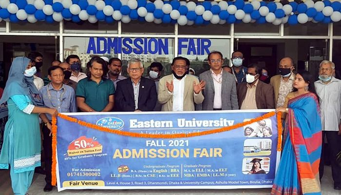 Admission Fair Started at Eastern University