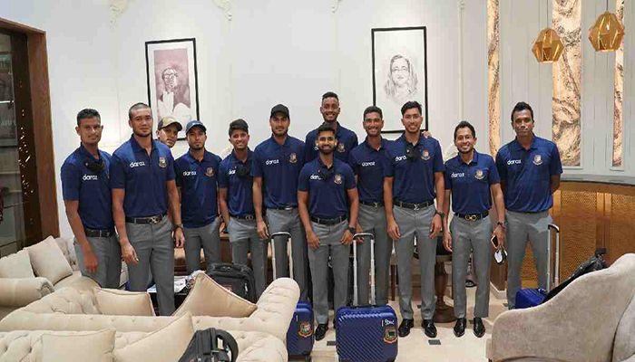 T20 World Cup: Bangladesh Team Reaches Oman