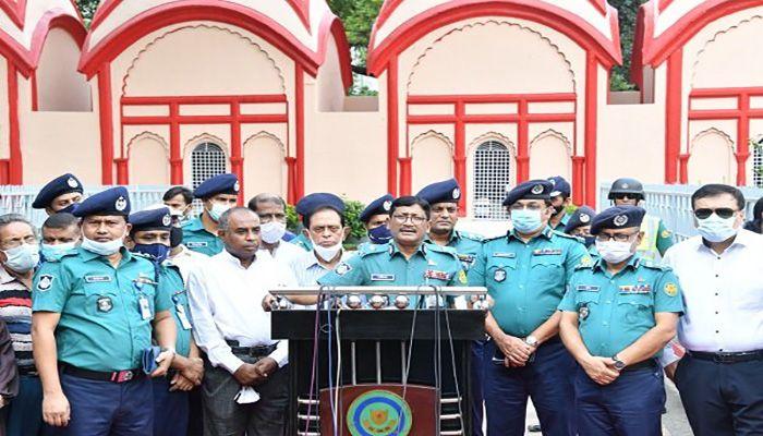 Dhaka Metropolitan Police (DMP) Commissioner Md Shafiqul Islam    Photo: Collected
