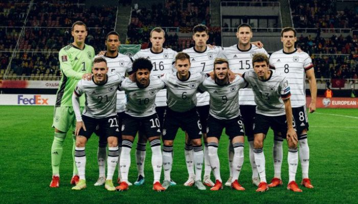 Germany football team    Photo: Collected