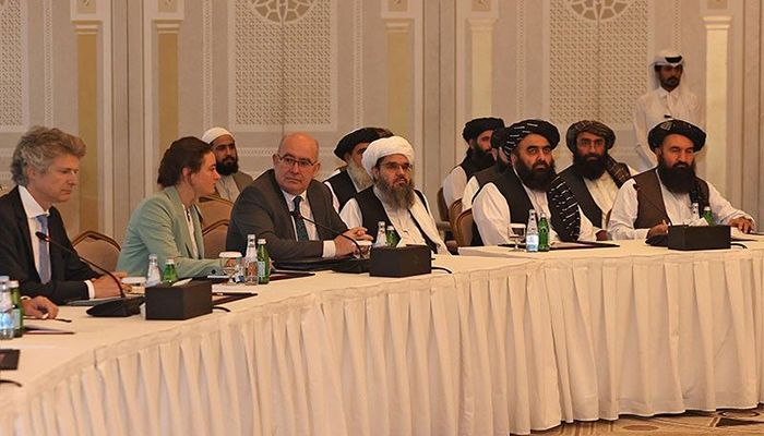 The Taliban met with a joint US-EU team in Qatar || Photo: Collected