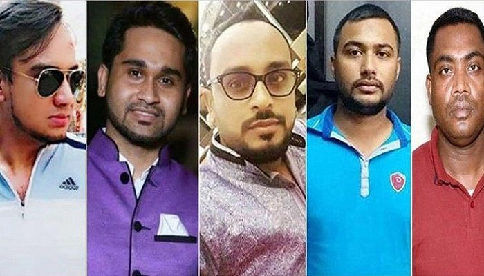 The 5 accused of the rape case || Photo: Collected