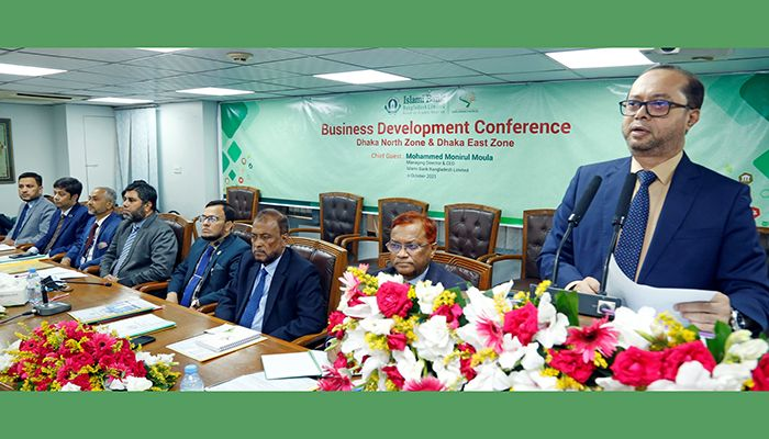 IBBL Dhaka East & North Zones Hold Business Development Conference
