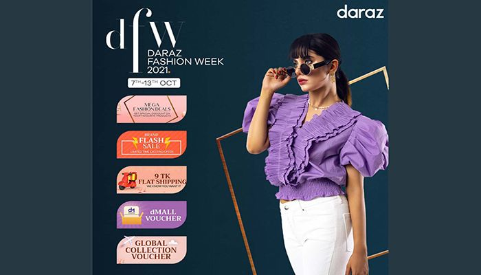 Daraz Continues Fashion Week 2021 with Best Deals and Lucrative Offers