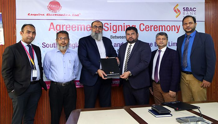 SBAC Bank Signs MoU with Esquire Electronics Ltd to Get EMI facility