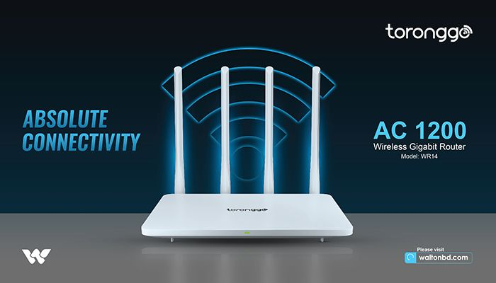 Walton Releases 1200 Mbps Dual Band Wi-Fi Router