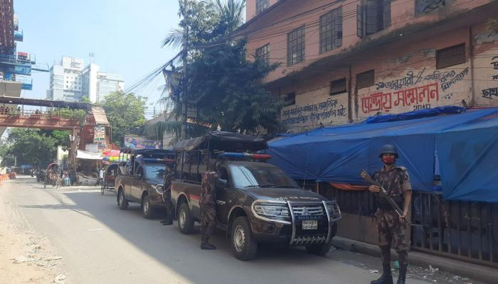 Security Beefed Up in Dhaka