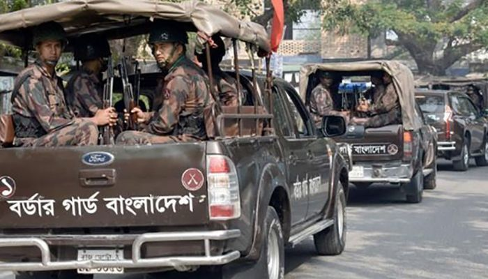 BGB Deployed in 35 Districts
