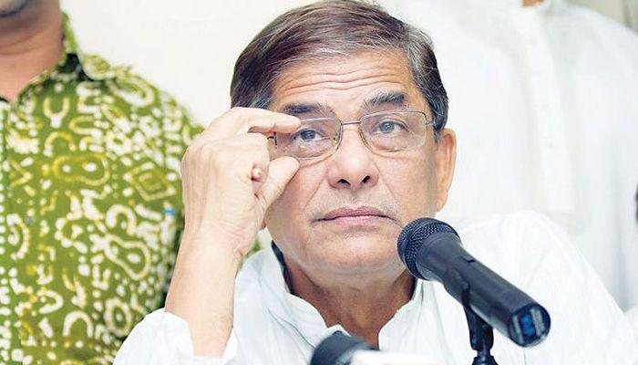 BNP secretary general Mirza Fakhrul Islam Alamgir || Photo: Collected