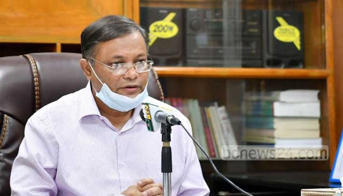 Information and Broadcasting Minister Dr Hasan Mahmud || Photo: Collected