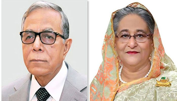 President M Abdul Hamid and Prime Minister Sheikh Hasina || Photo: Collected