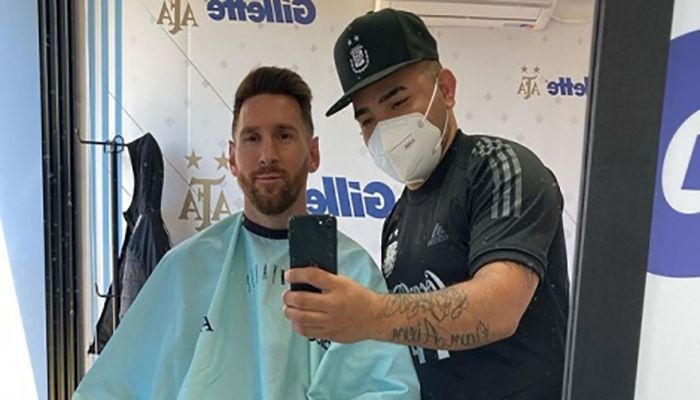 Messi in a New Look