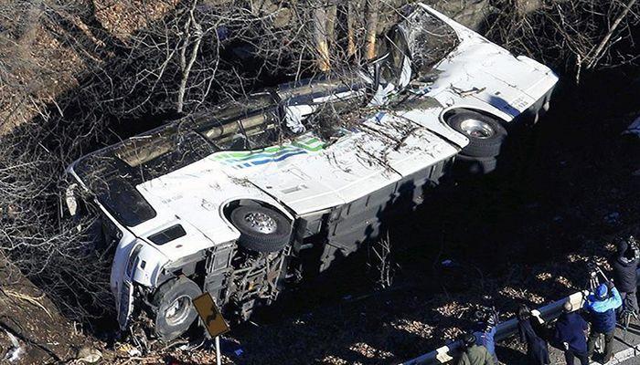 Nepal Bus Crash Kills At Least Twenty Eight
